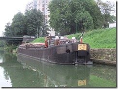 a working barge