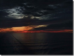 Dawn in the Baltic