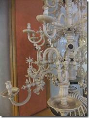 Detail ivory chandelier