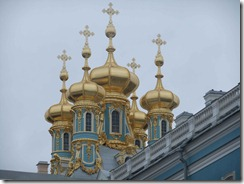 Domes on Catherine's Palace