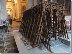 Model of scaffold