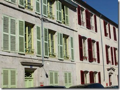 multicoloued shutters
