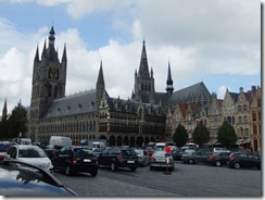 The main square in Ypres
