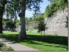 Verdun fortress walls