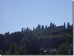 hills above