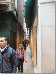narrowest street