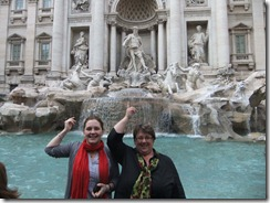 Alex and Bernice at Trevi