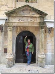 Bernice and door