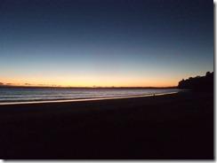 sun rise long bay