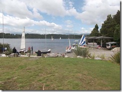 yachting Lake Kaniere