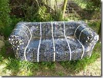 mosiac sofa