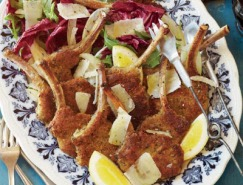 Lemon and Oregano Crumbed Lamb Cutlets