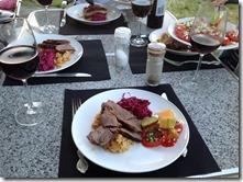 8 dinner